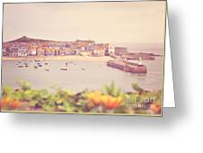 Cornish Harbour Greeting Card