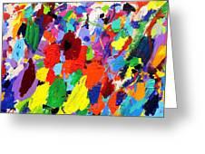 Cornucopia Of Colour I Greeting Card
