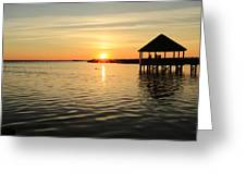 Corolla Sunset Greeting Card by Brenda Schwartz