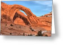 Corona Arch Canyon Greeting Card