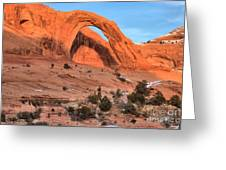 Corona Arch Landscape Greeting Card