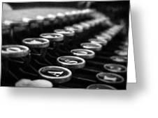 Corona Zephyr Keyboard Greeting Card