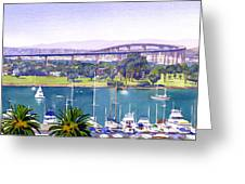Coronado Bay Bridge Greeting Card