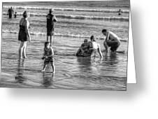 Coronado Beach Tourist Greeting Card