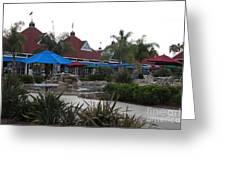Coronado Ferry Landing Marketplace In Coronado California 5d24386 Greeting Card