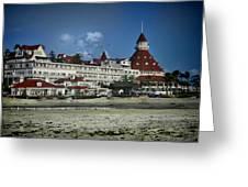 Coronado Hotel Greeting Card