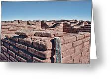 Coronado Monument Adobe Walls Greeting Card