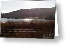 Corpach Loch Linnhe Glen Nevis Greeting Card