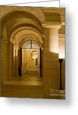 Corridors Greeting Card