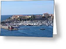 Corsican Marina Greeting Card