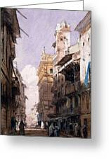 Corso Saint Anastasia, Verona Greeting Card