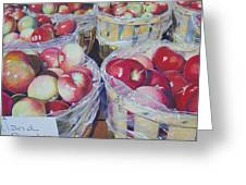 Cortland Apples Greeting Card