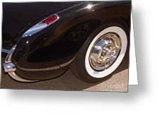 Corvette Curves Greeting Card