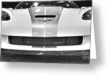 Corvette  Greeting Card by Tom Gari Gallery-Three-Photography