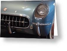 Corvette Roadster 1955 Greeting Card