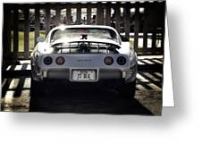 Corvette Greeting Card