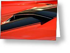 Corvette Torch Greeting Card