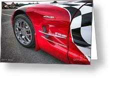 Corvette Z06 Greeting Card