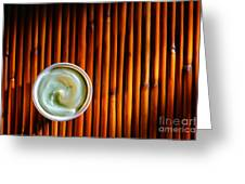 Cosmetic Cream Greeting Card