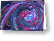 Cosmic Activity 15 Greeting Card