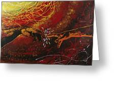 Cosmic Contact Greeting Card