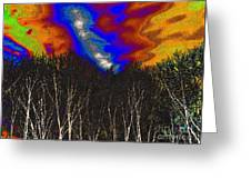 Cosmic Forces Greeting Card