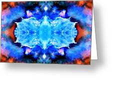 Cosmic Kaleidoscope 1 Greeting Card by Jennifer Rondinelli Reilly - Fine Art Photography