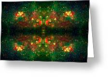 Cosmic Kaleidoscope 3 Greeting Card by Jennifer Rondinelli Reilly - Fine Art Photography