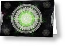 Cosmic Medallians Rgb 1 Greeting Card
