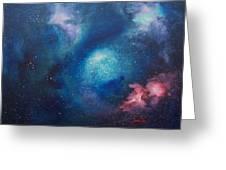 Cosmic Skies Greeting Card