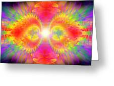 Cosmic Spiral Ascension 02 Greeting Card