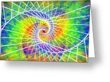Cosmic Spiral Ascension 03 Greeting Card