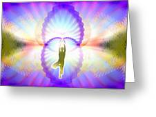 Cosmic Spiral Ascension 07 Greeting Card