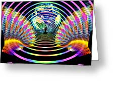 Cosmic Spiral Ascension 16 Greeting Card