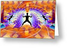 Cosmic Spiral Ascension 19 Greeting Card