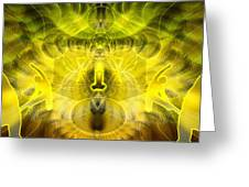 Cosmic Spiral Ascension 26 Greeting Card