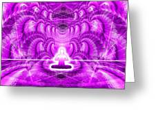 Cosmic Spiral Ascension 29 Greeting Card