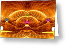 Cosmic Spiral Ascension 33 Greeting Card
