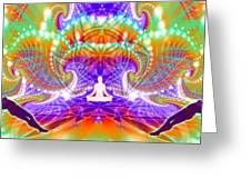 Cosmic Spiral Ascension 60 Greeting Card
