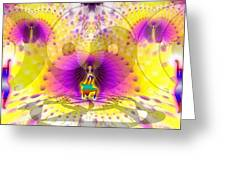 Cosmic Spiral Ascension 62 Greeting Card