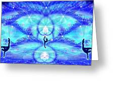 Cosmic Spiral Ascension 65 Greeting Card