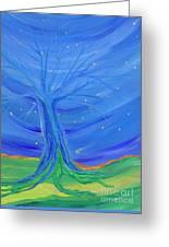 Cosmic Tree Greeting Card