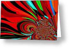 Cosmic Wimpout 1980 Greeting Card