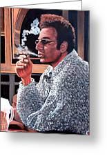 Cosmo Kramer Greeting Card