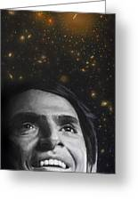 Cosmos- Carl Sagan Greeting Card