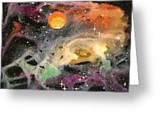 Cosmos Greeting Card by Wolfgang Finger