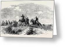 Cossacks Skirmishing Greeting Card