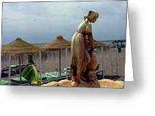 Costa Del Sol Torremolinos Spain Greeting Card