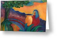 Costa Mango II Greeting Card