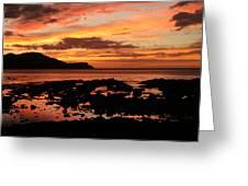Costa Rica Sunset Greeting Card